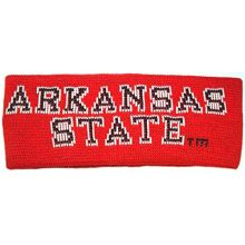NCAA Licensed Arkansas State Red Wolves Knit Team Name Sweatband Headband