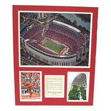 Bama NCAA Officially Licensed Ohio State Buckeyes at&T Stadium History Aerial Vi.