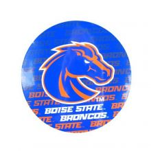 "NCAA Officially Licensed Boise State Broncos Repeating Design 4"" Round Magnet"