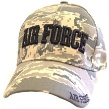 KYS Design Air Force Digital Camouflage Adjustable Hat