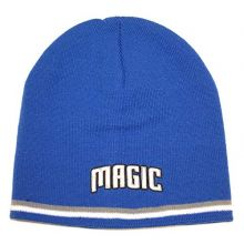 NBA Officially Licensed Orlando Magic 2 Stripe Beanie Hat Cap Lid Skull