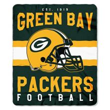 The Northwest Company NFL Green Bay Packers Printed Fleece Throw, 50 x 60-inches