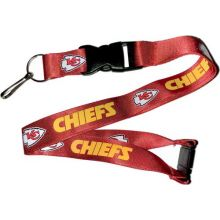 NFL Kansas City Chiefs Team Color Lanyard, 22-inches, Red