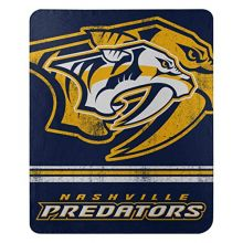 "NHL Nashville Predators ""Fade Away"" Fleece Throw Blanket, 50"" x 60"""