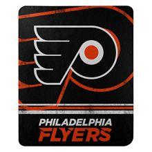 """NHL Philadelphia Flyers """"Fade Away"""" Fleece Throw Blanket, 50"""" x 60"""""""
