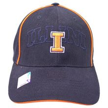 The Game NCAA Officially Licensed Illinois Illini Embroidered Slouch Fit Hat Cap Lid