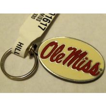 Mississippi Rebels OLE MISS PREMIUM Pewter Keychain Key Chain University of
