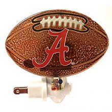 NCAA Officially Licensed Alabama Crimson Tide Youth/Adult Football Glass Nigh...