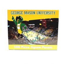 R and R Imports NCAA George Mason Patriots Unisex 500-Piece Stadium Jigsaw Puzzle, Team Color, 500-Piece