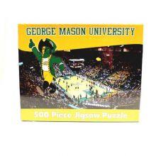 R and R Imports NCAA George Mason Patriots Unisex 500-Piece Stadium Jigsaw Puzzle, Team Color, 500-Piece