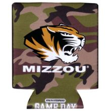 Game Day Outfitters NCAA Missouri Tigers Koozie Camo 12 DP Pocket, One Size, Multicolor