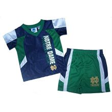 NCAA Officially Licensed Notre Dame Shirt and Short Set (12 Months)