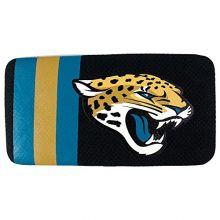 NFL Jacksonville Jaguars Women's Mesh Hard Shell Wallet - Black