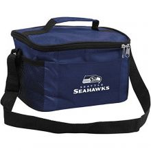 NFL Officially Licensed Seattle Seahawks 6-Pack Insulated Cooler Bag