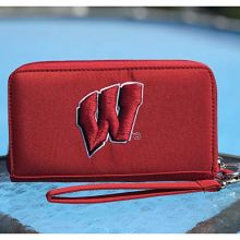 Charm14 NCAA Wisconsin Badgers Deluxe Cell Phone Wallet-Fits All Phones