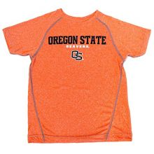 Genuine Stuff Oregon Beavers Licensed Short Sleeve Youth Orange Dry Fit Shirt (Large 14/16)