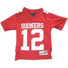 NCAA Licensed Oklahoma Sooners #12 Youth Jersey (Extra Large XL)