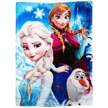 "Disney's Frozen, ""Ice Castle"" HD Silk Touch Throw Blanket, 46"" x 60"", Multi Color"