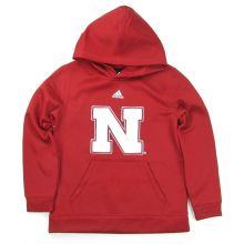 NCAA Officially Licensed Nebraska Cornhuskers Embroidered Performance Youth Hoodie (Medium 10/12)