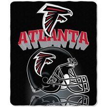 NFL Atlanta Falcons Gridiron Fleece Throw, 50-inches x 60-inches
