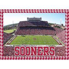 "Oklahoma Sooners 500 Piece Jigsaw Puzzle 16""x20 Size Football Stadium University of"