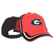 NCAA Officially Licensed Georgia Bulldogs Trim Style Adjustable Baseball Hat