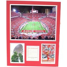 Bama NCAA Officially Licensed Ohio State Buckeyes at&T Stadium History Close-Up