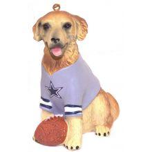 NFL Licensed Dallas Cowboys Team Dog Ornament