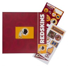 "NFL Officially Licensed Washington Redskins 12"" X 12"" Tapestry Complete Scrap..."
