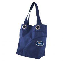 NFL Officially Licensed Grommet Nylon Tote Bag (Denver Broncos)