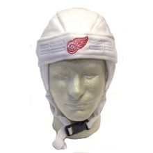 NHL Officially Licensed Detroit Red Wings Helmet Style Beanie Hat Cap Lid