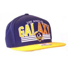 Los Angeles Galaxy  Blaze Flat Bill Adjustable Hat