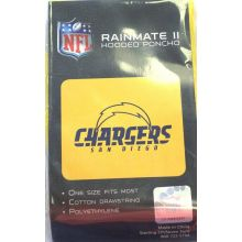 NFL Licensed Rain Poncho (San Diego Chargers)
