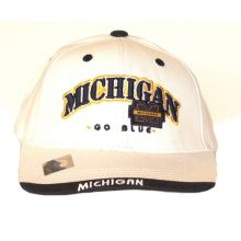 Michigan Wolverines Youth Go Blue Adjustable Hat