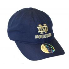 NCAA Officially Licensed Notre Dame Slouch Fit Textured Soccer Hat Cap Lid