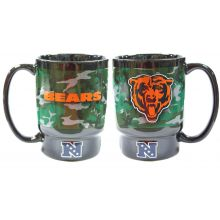 Chicago Bears 16 Oz Camo Ceramic Mug