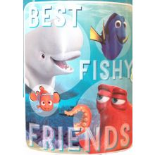 Disney Finding Dory Best Fishy Friends Fleece Throw