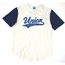 MLS Officially Licensed Philadelphia Union Baseball Jersey Shirt (Large) With Stitched Lettering