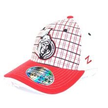 Ottawa Senators Stitched Argyle Flex Fit Size M/L Hat