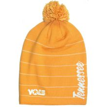 "NCAA Officially Licensed Tennessee Volunteers ""Vols"" Script Long Tassel Beanie Hat Cap Lid"