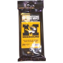 NCAA Officially Licensed Mizzou Tigers 12ct Sanitizing Wipes