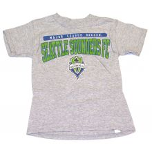 MLS Officially Licensed Seattle Sounders YOUTH Logo T-Shirt (Large 14-16)