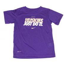 NCAA Licensed Washington Huskies YOUTH Dri-Fit T-Shirt (Size 4)