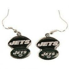 New York Jets Football Style Dangle Earrings