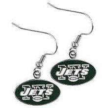 New York Jets Logo Dangle Earrings