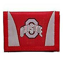 Ohio State Buckeyes Tri-Fold Nylon Chamber Wallet