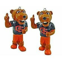 Oregon State Beavers 2-Piece Porcelain Figure Ornament Set
