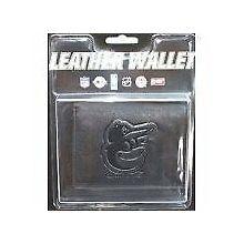 Baltimore Orioles Black Tri-Fold Leather Wallet