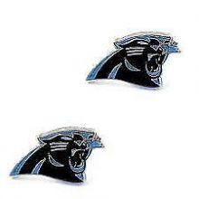 Carolina Panthers Logo Stud Earrings