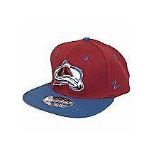 Colorado Avalanche Zero G Flat Bill Hat